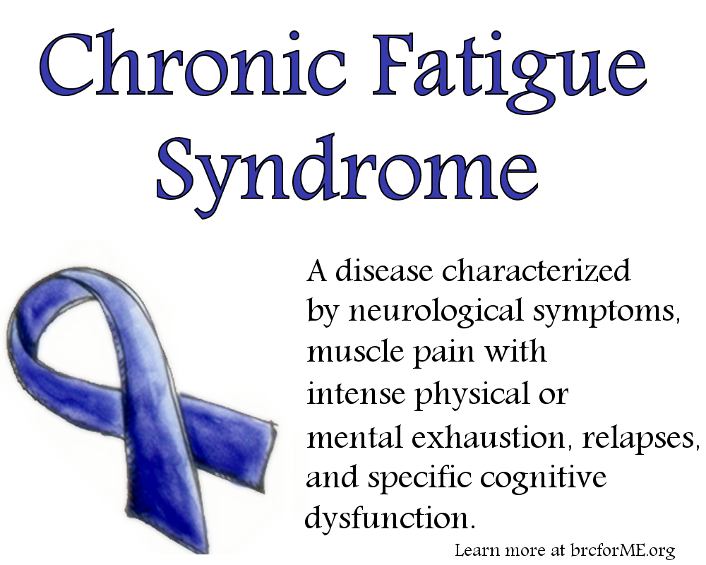 how to live with chronic fatigue syndrome