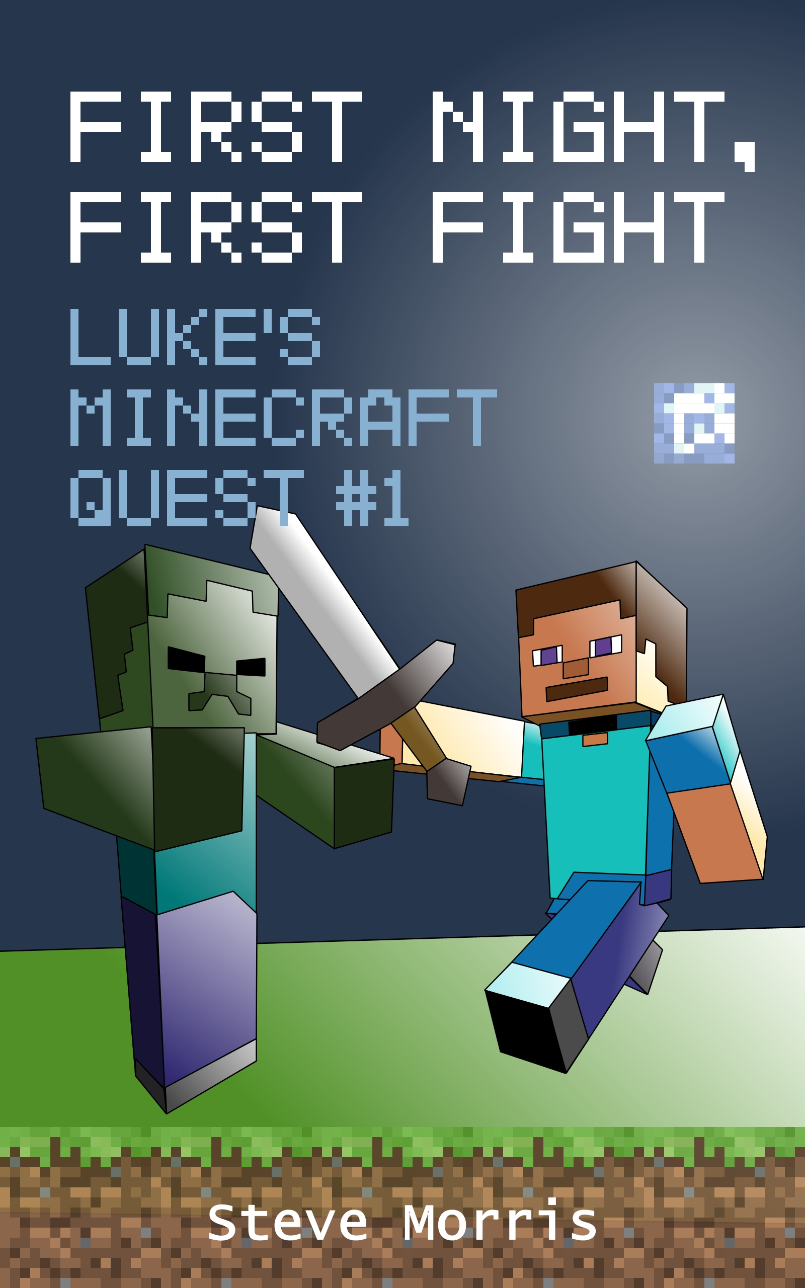Book Cover Craft Quest : Luke s minecraft quest ger gest
