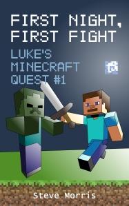 Luke's Minecraft Quest book cover