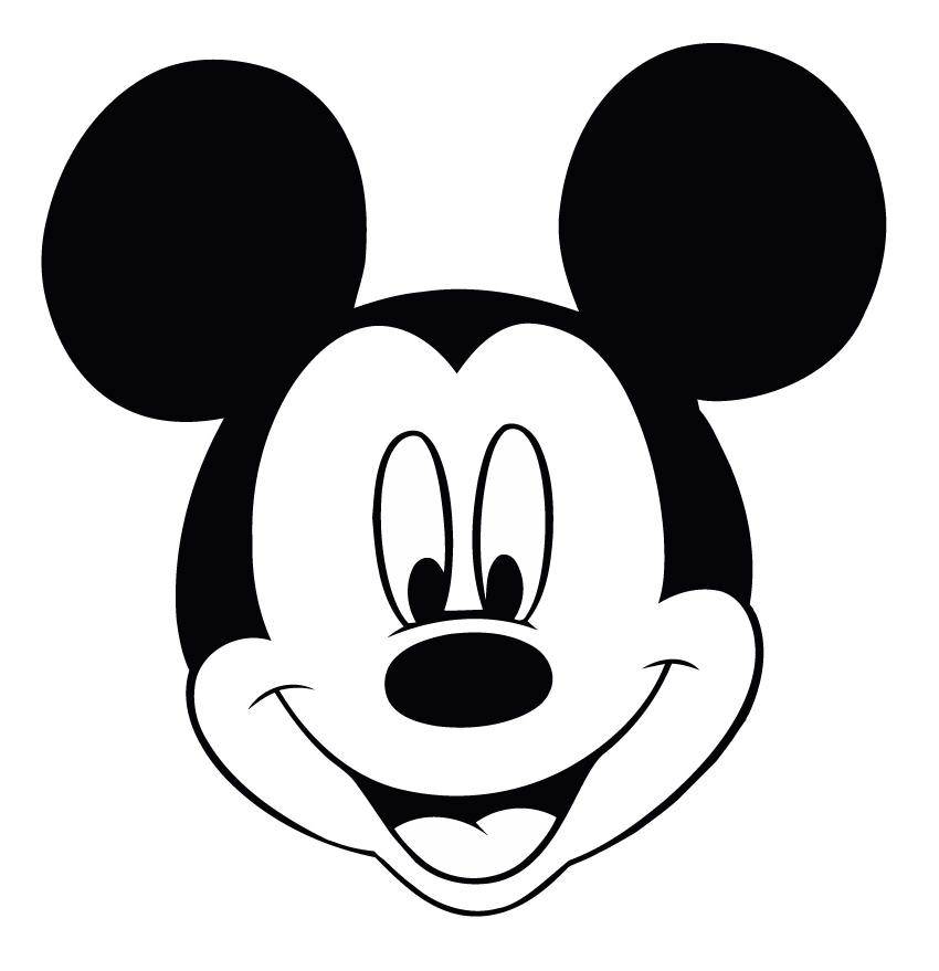mickey mouse head shape template - perfect imperfect blog blogger bloggest