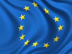 European Union Flag by Yanni Koutsomitis