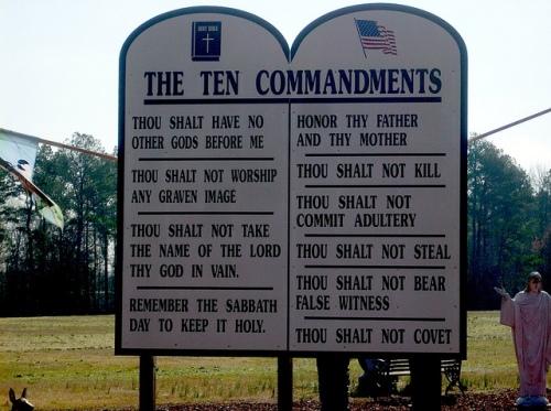 The Ten Commandments by Gerry DIncher